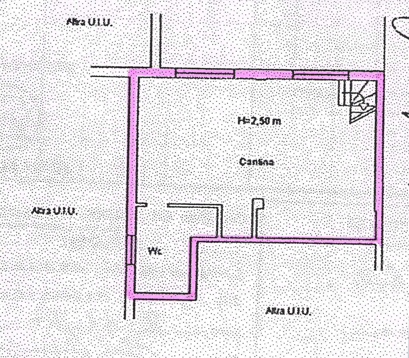 Planimetria 2/2 per rif. B108
