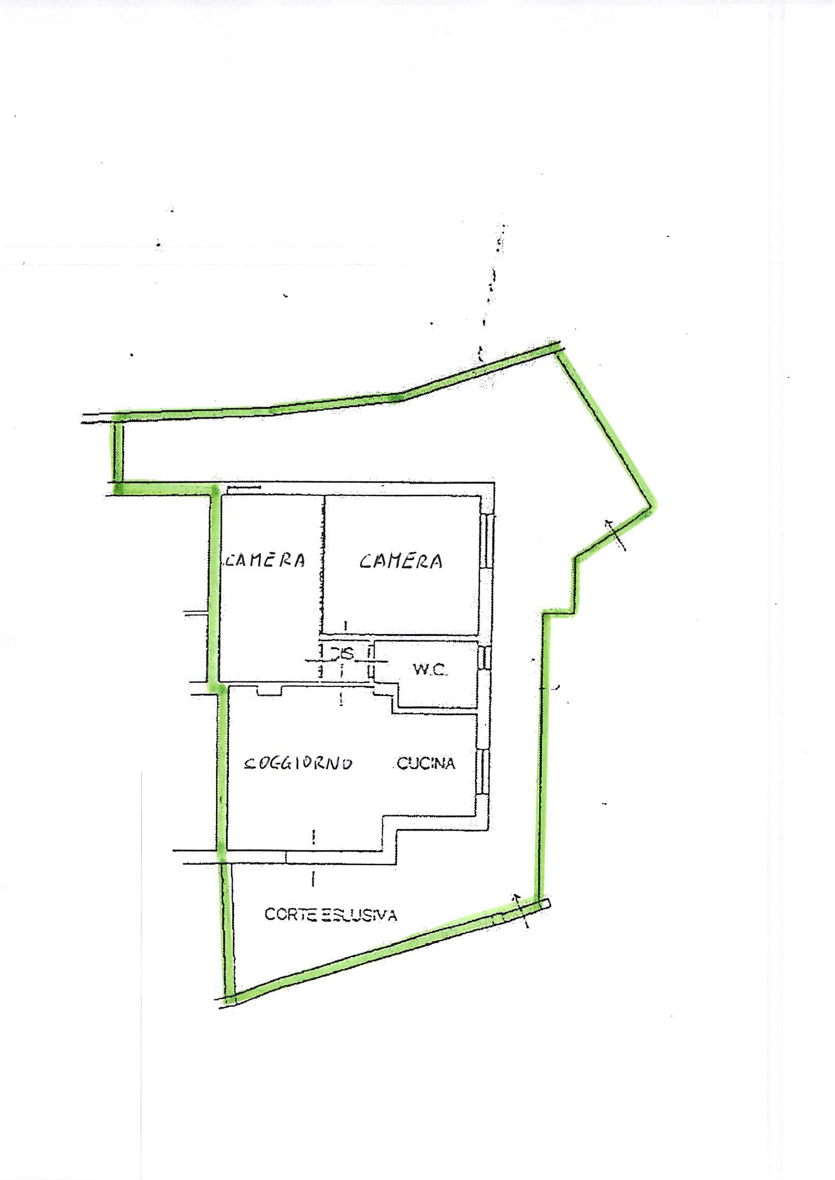 Planimetria 1/1 per rif. B119
