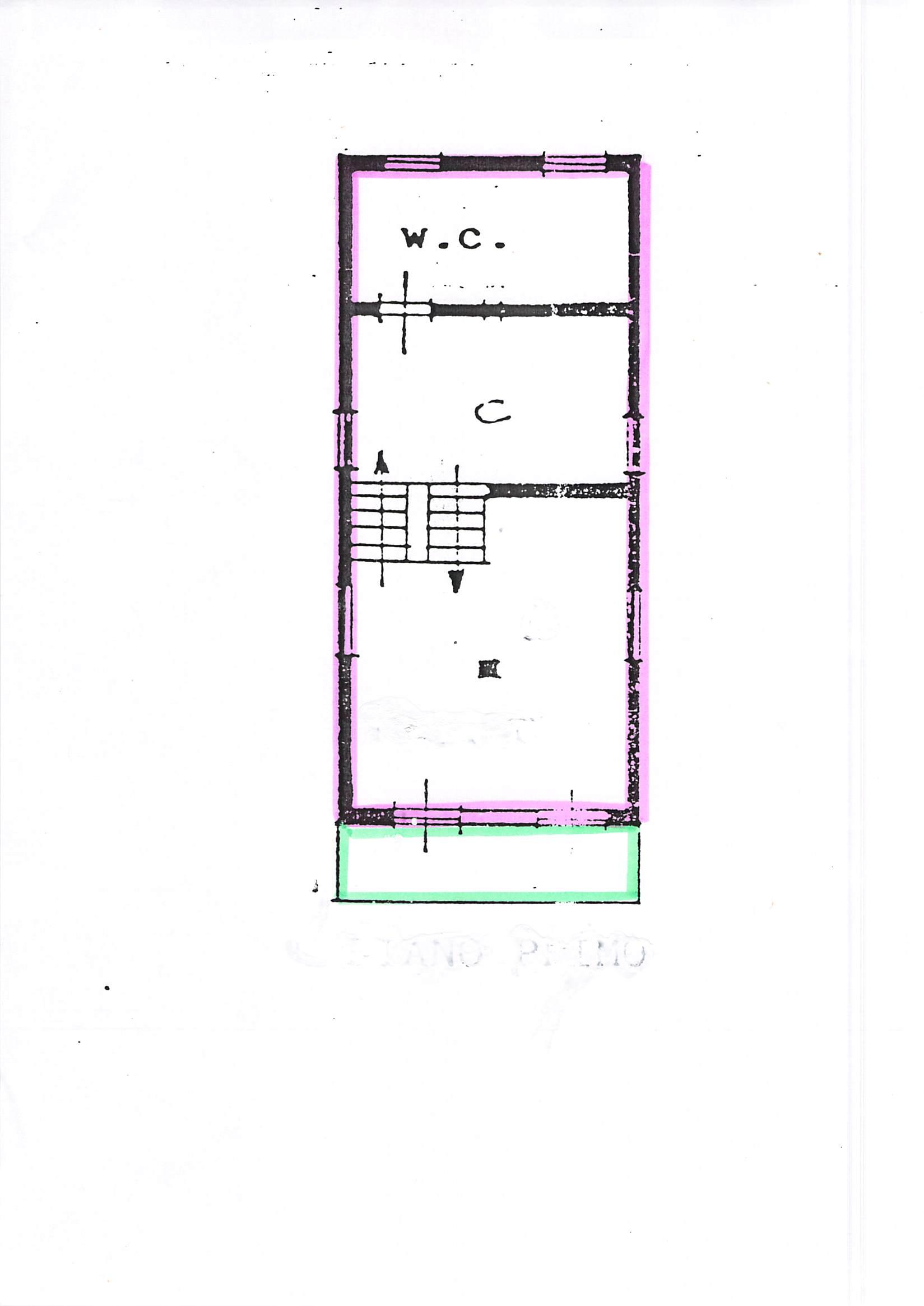 Planimetria 1/3 per rif. A76