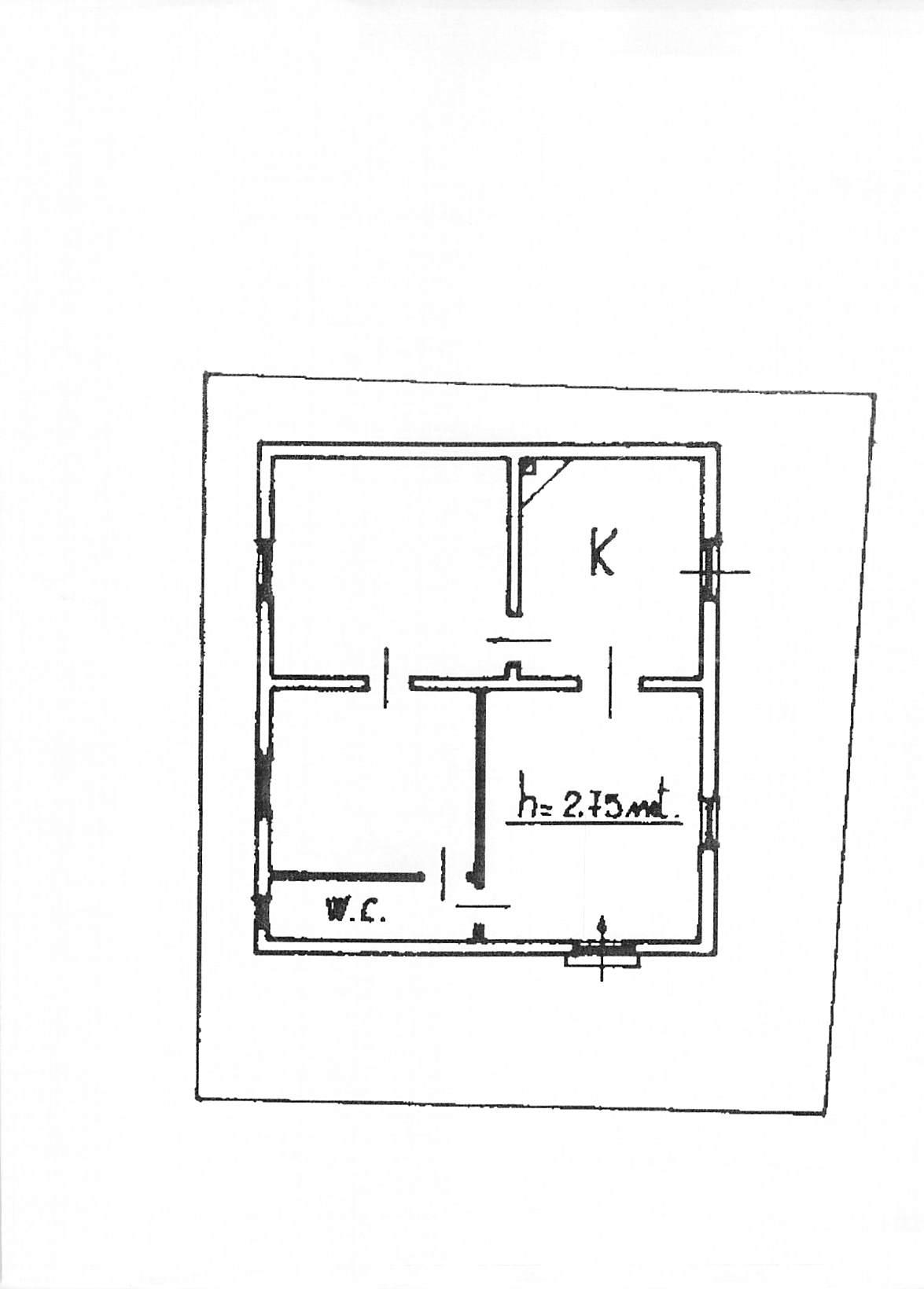 Planimetria 1/1 per rif. B132