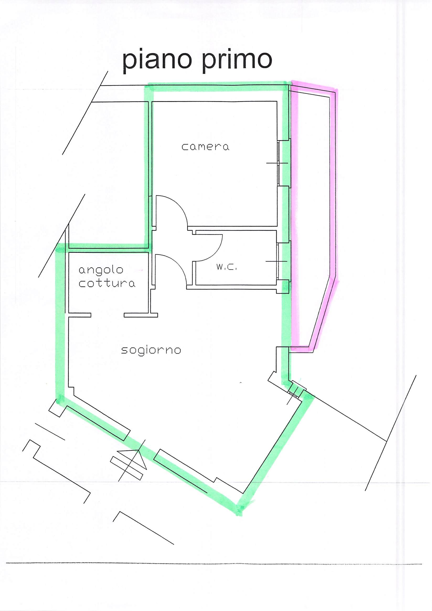 Planimetria 1/1 per rif. B142