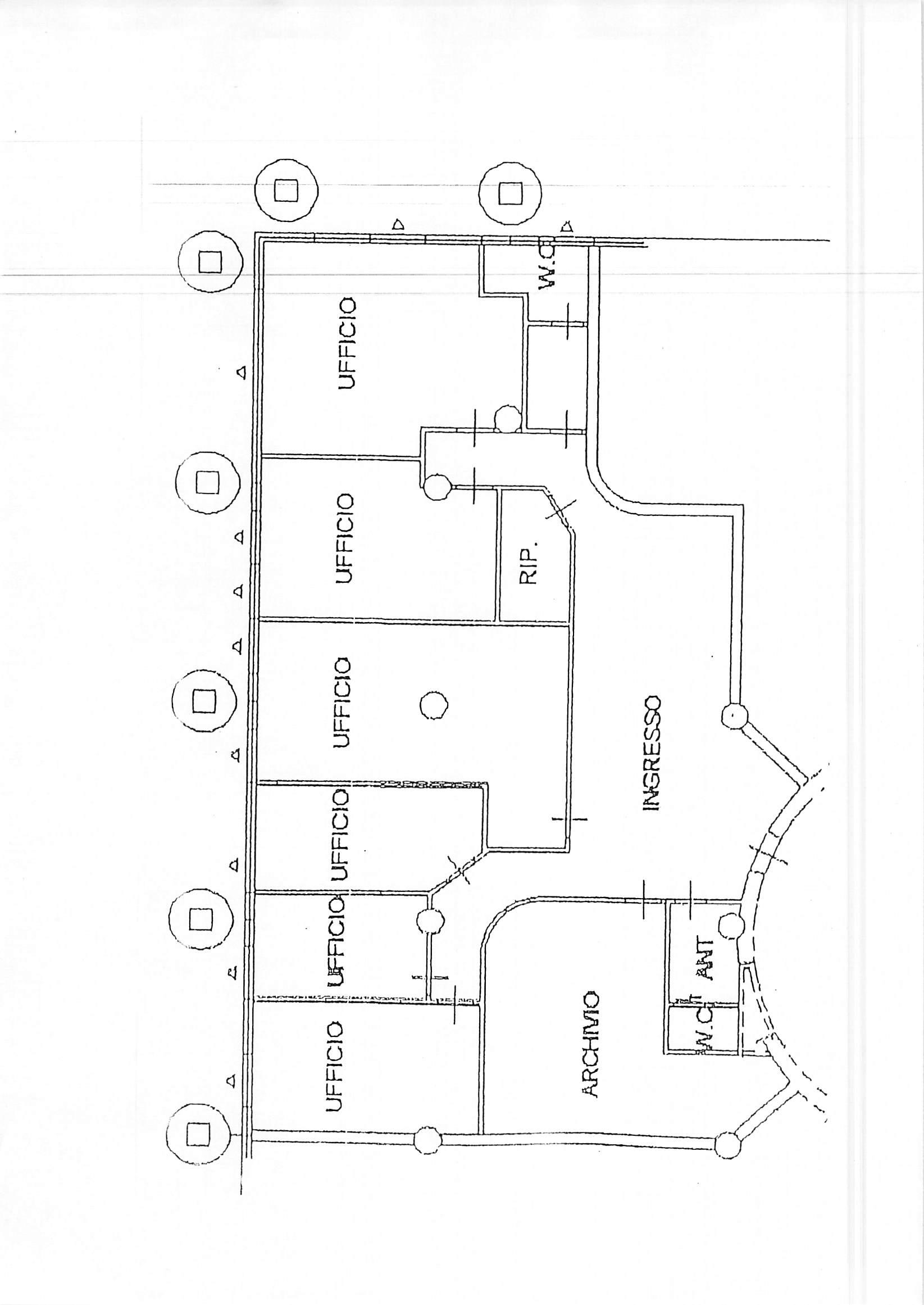 Planimetria 1/1 per rif. E17