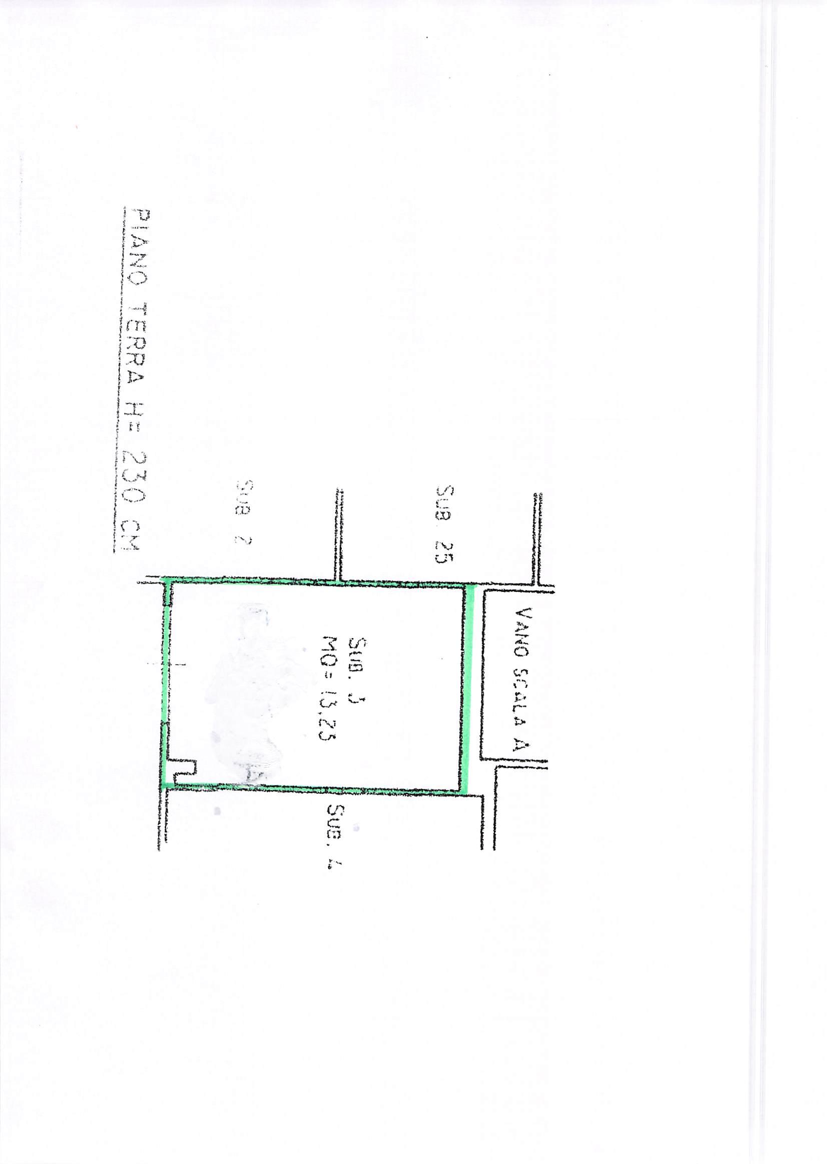 Planimetria 2/2 per rif. A106