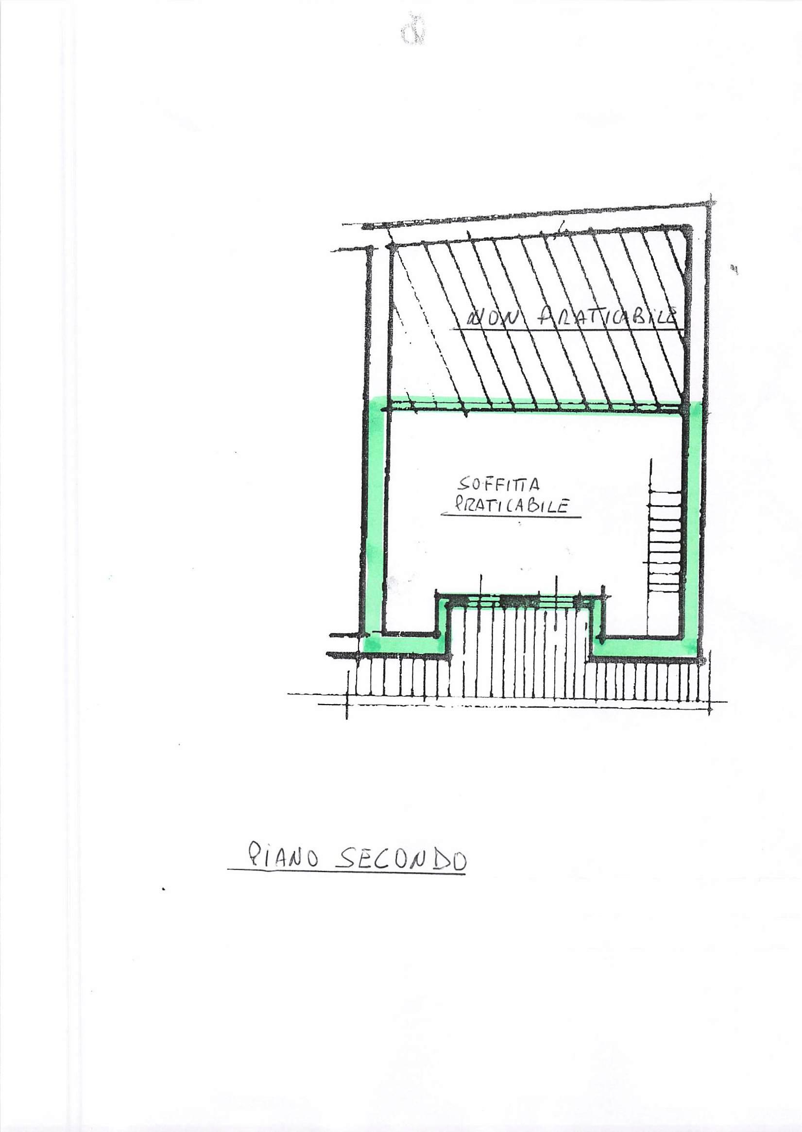 Planimetria 2/2 per rif. A113