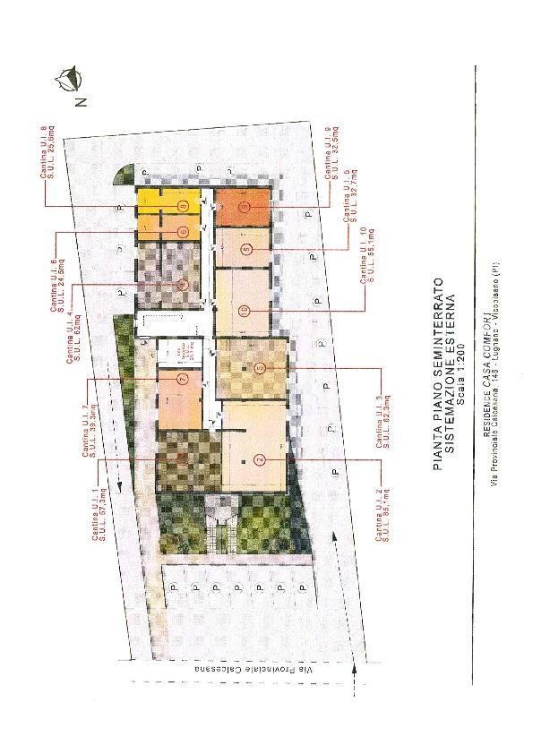 Planimetria 3/3 per rif. 871