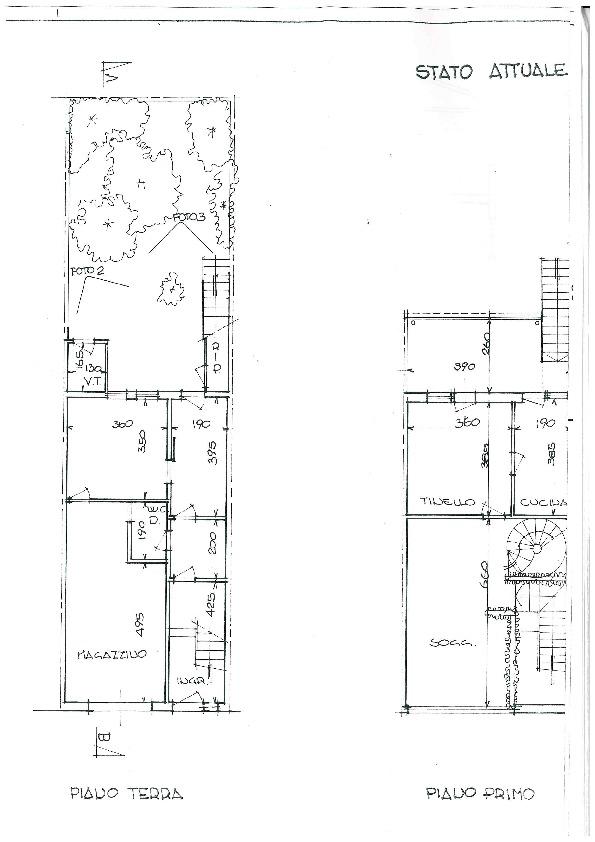 Planimetria 1/2 per rif. 894