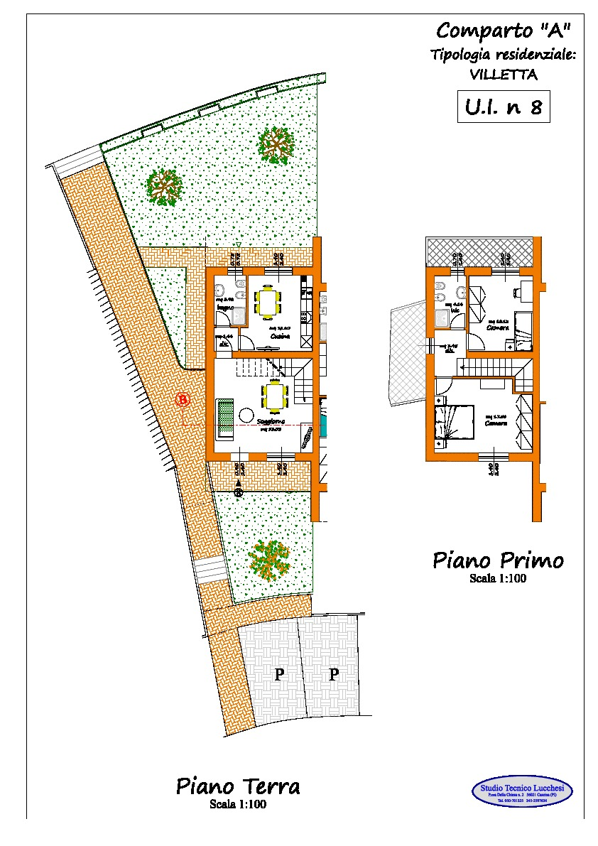 Planimetria 3/3 per rif. 916