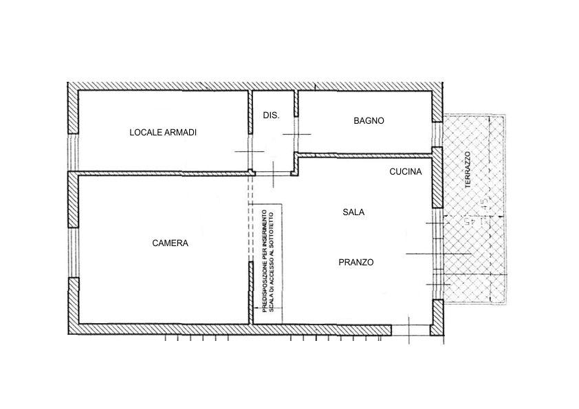 Planimetria /3 per rif. 2176