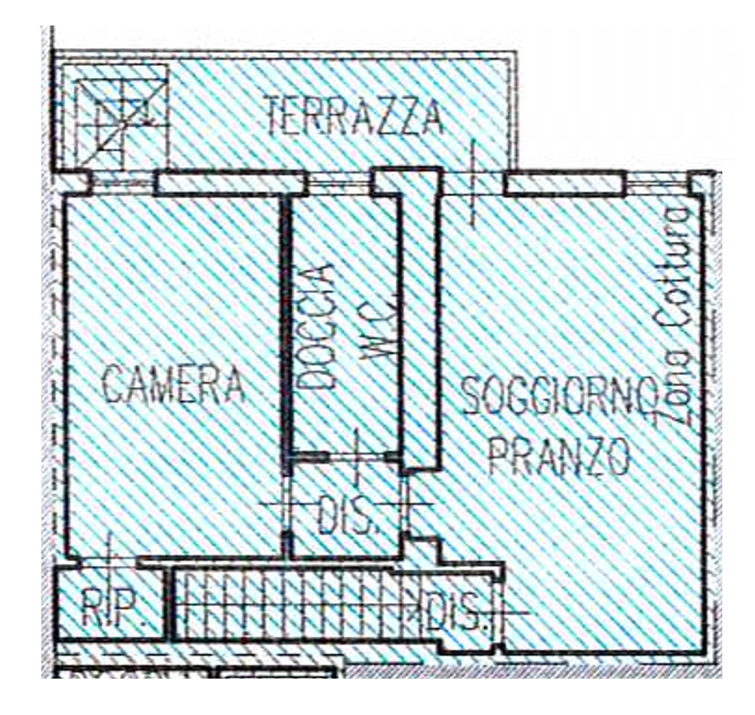 Planimetria /2 per rif. 1881