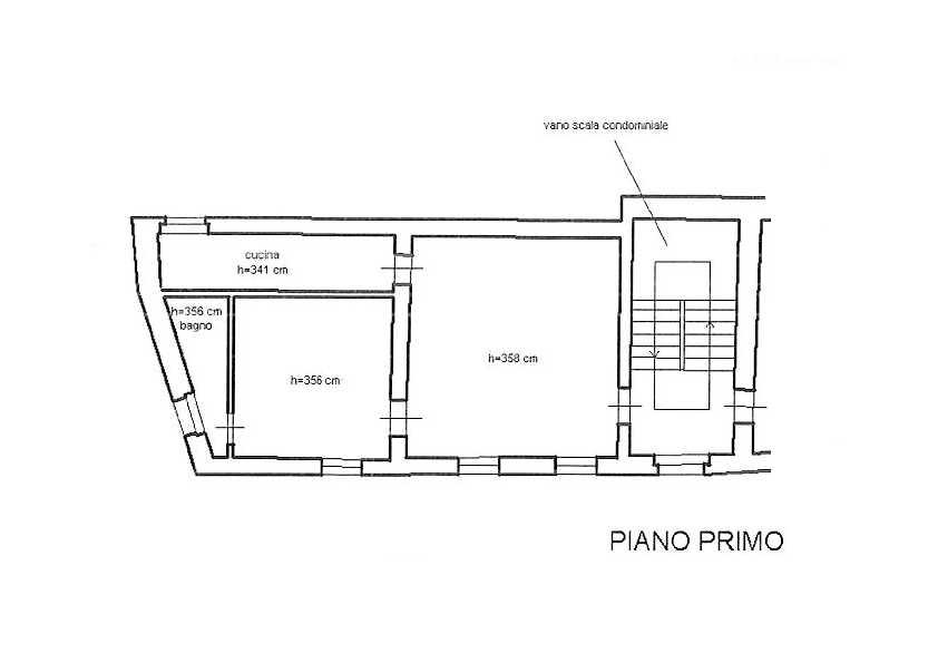 Planimetria /1 per rif. 2395