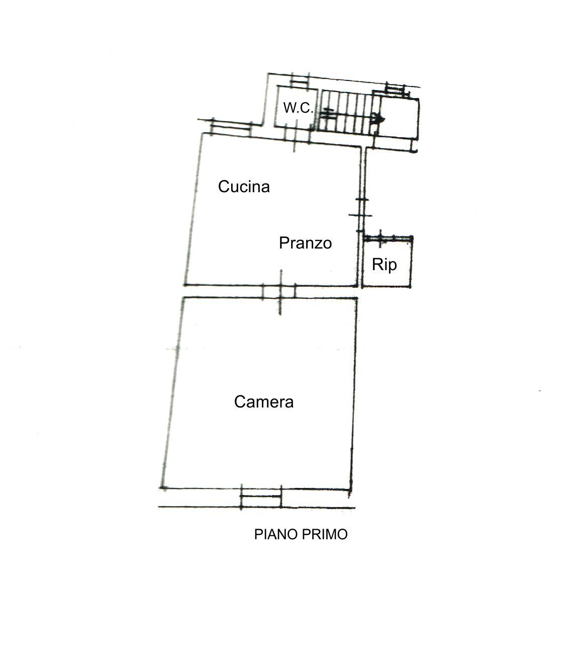 Planimetria /1 per rif. 2212
