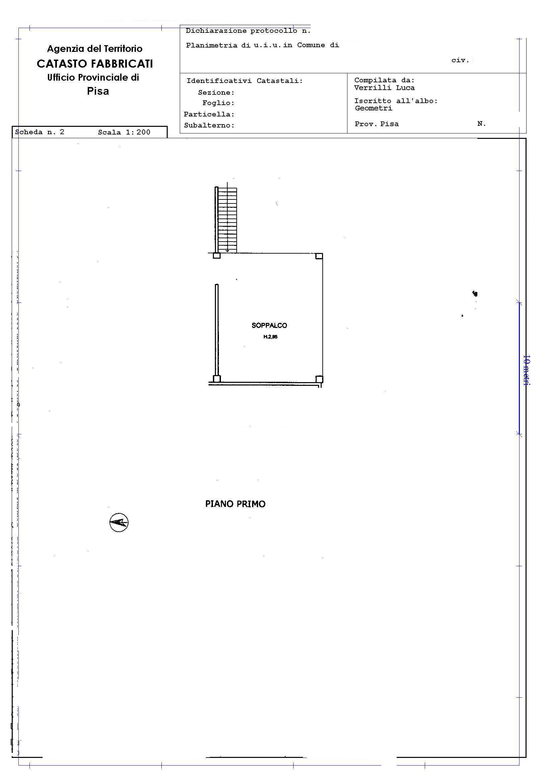 Planimetria /2 per rif. 2273