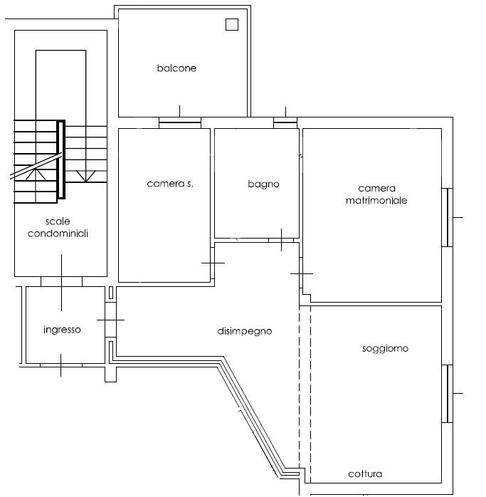 Planimetria /1 per rif. 2281