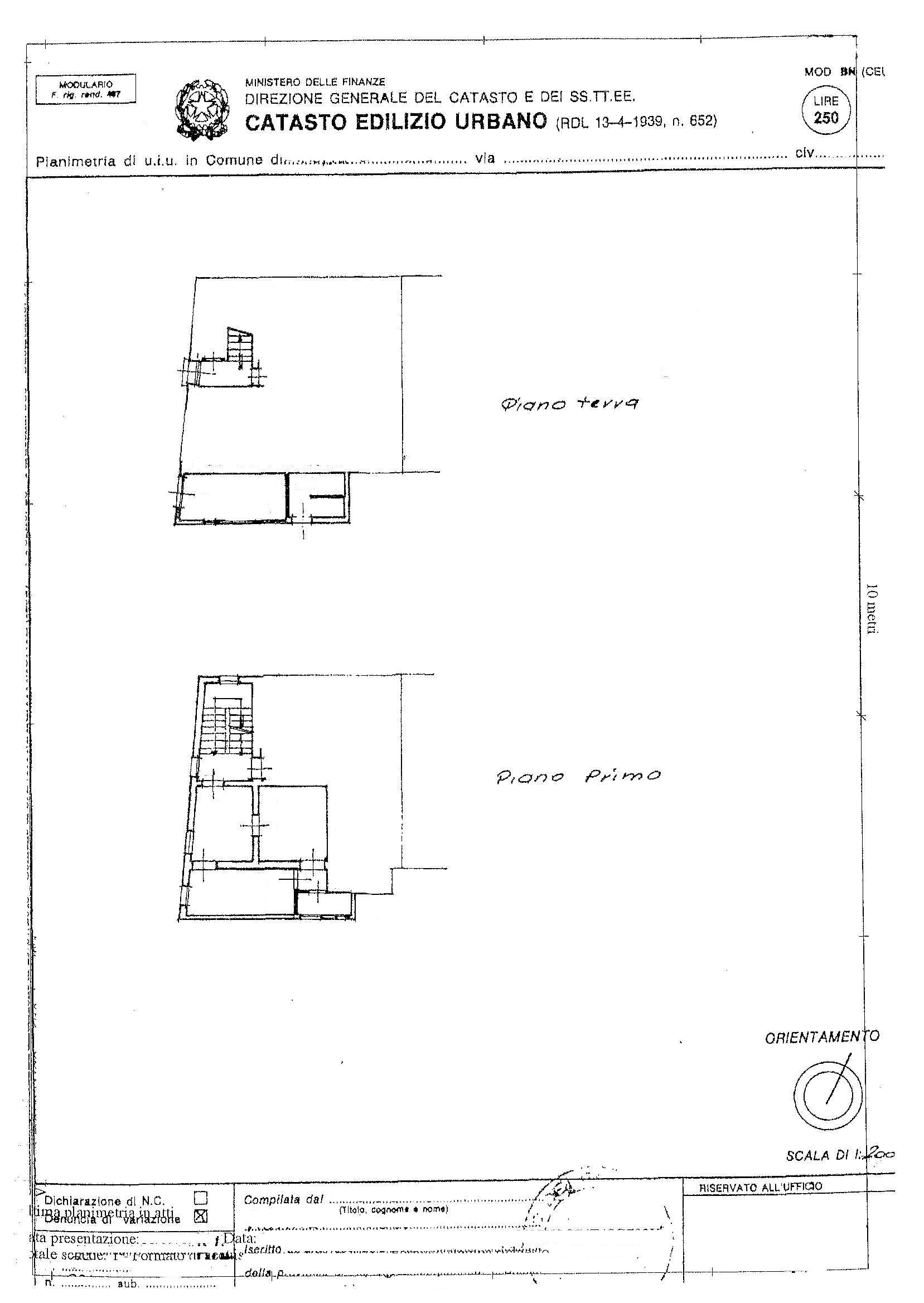 Planimetria /2 per rif. 2330