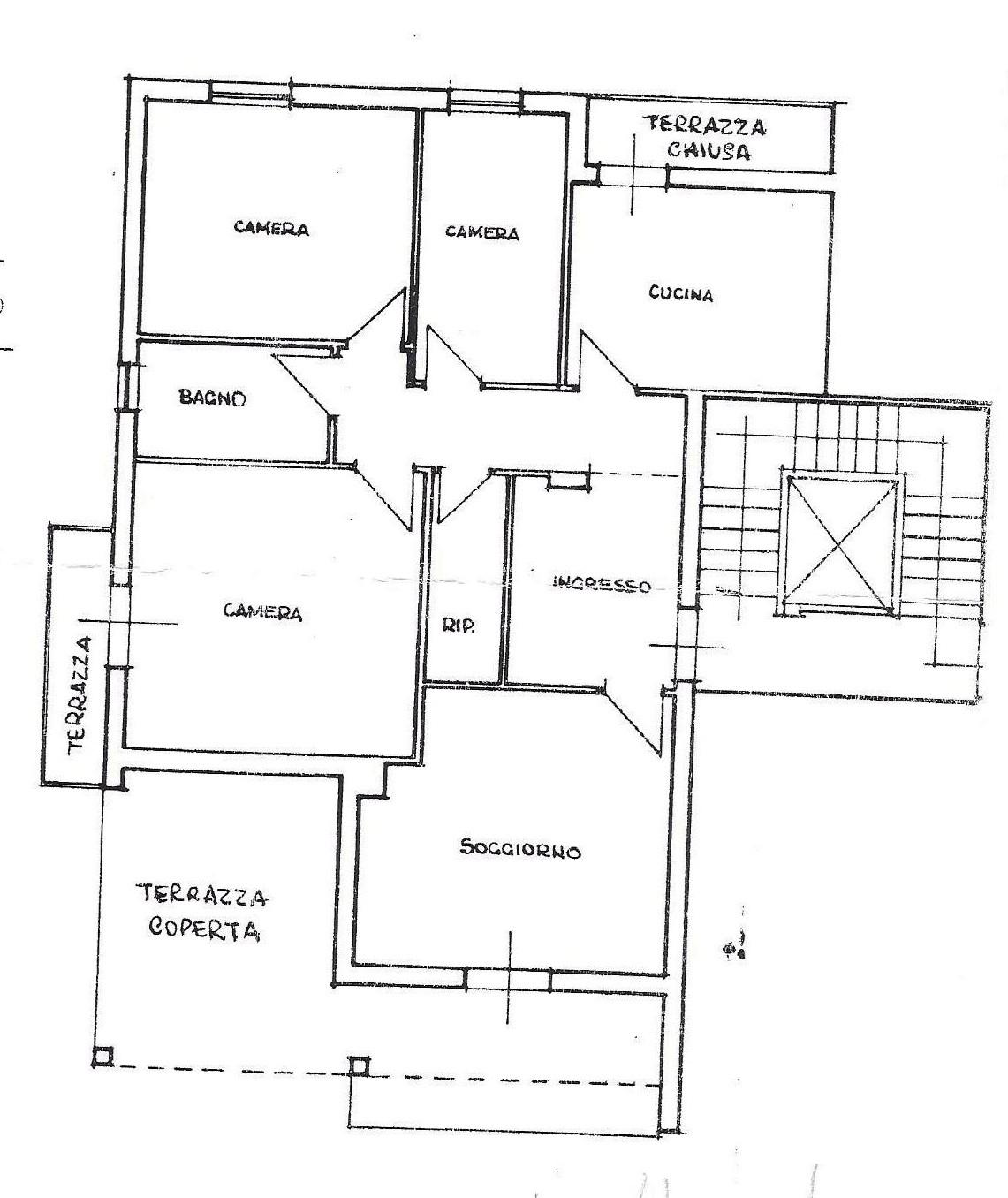 Planimetria 1/1 per rif. 1779