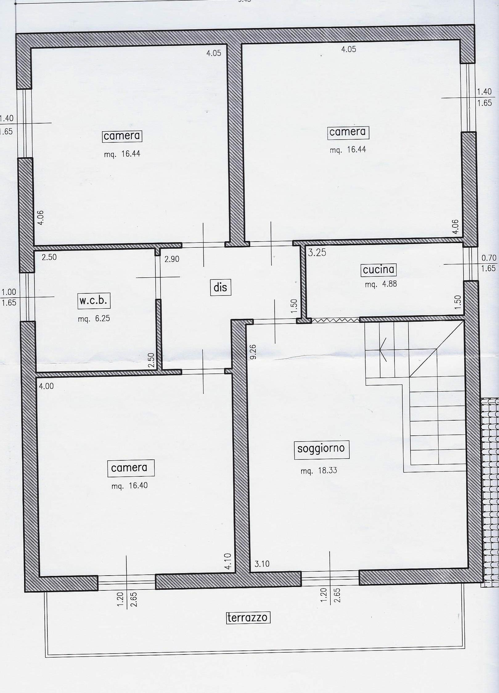 Planimetria 2/2 per rif. 1934