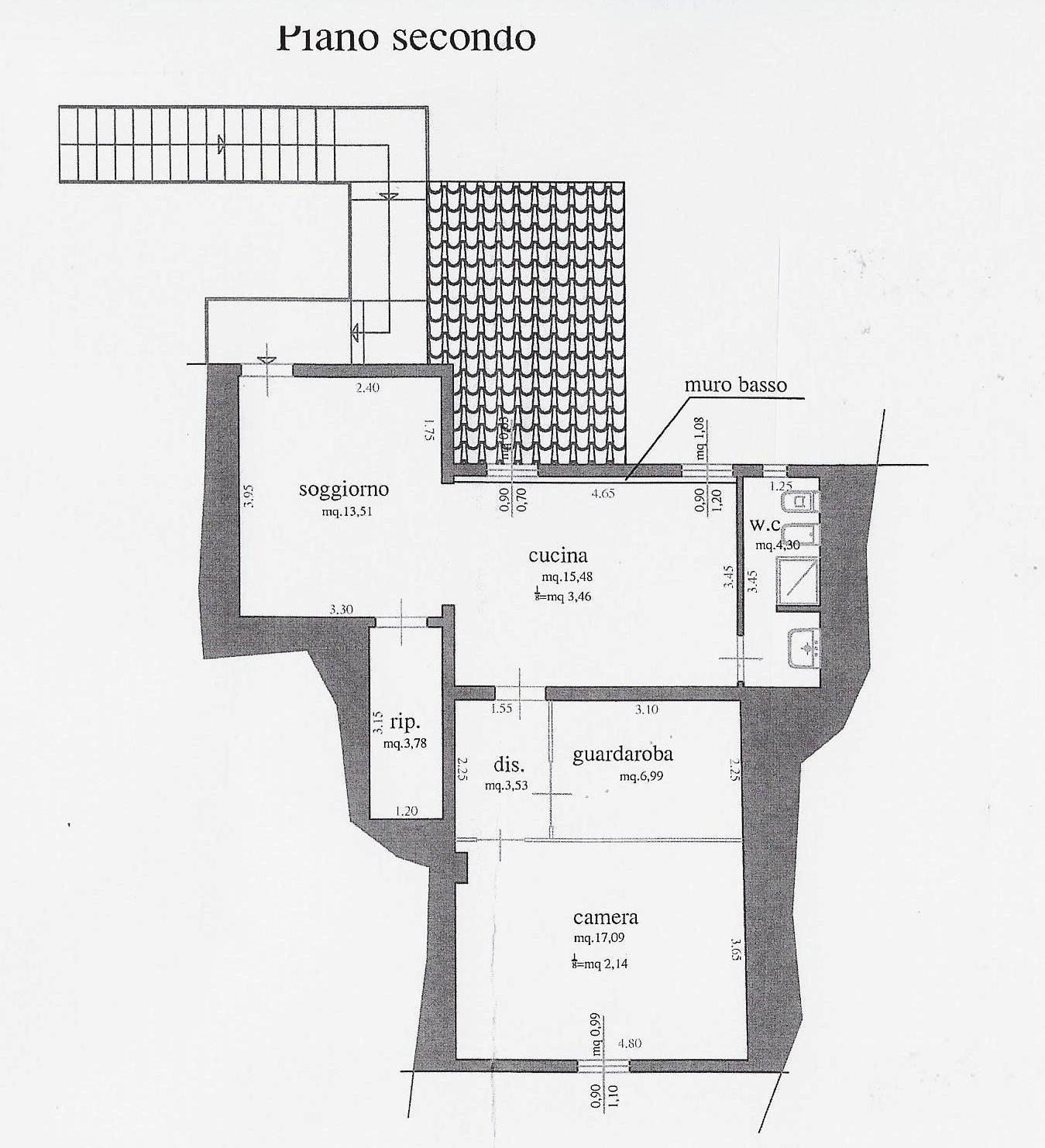 Planimetria 1/1 per rif. 1951