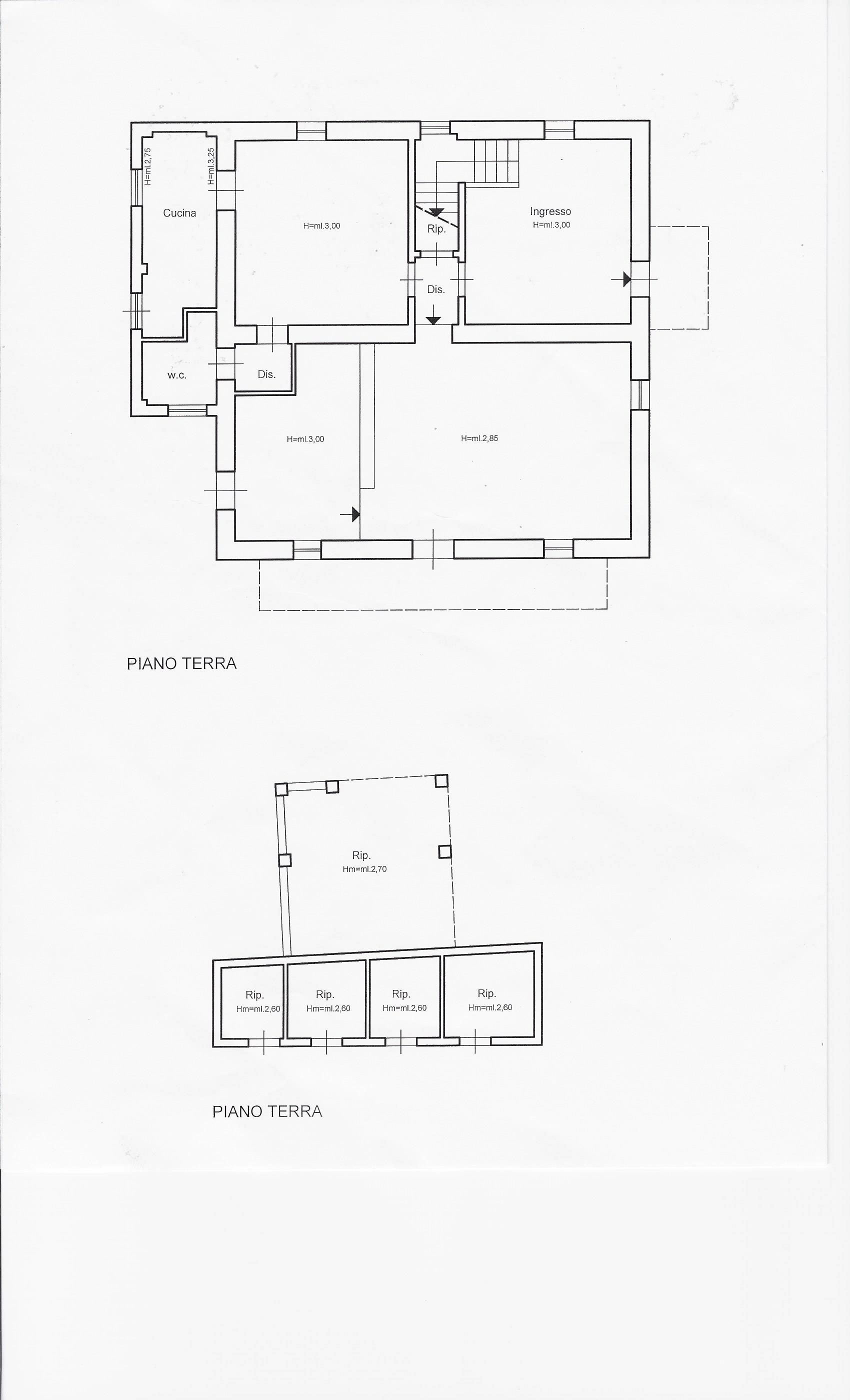 Planimetria 1/2 per rif. 1952