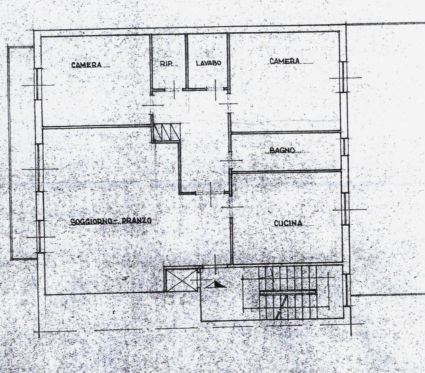 Planimetria 1/1 per rif. 1956