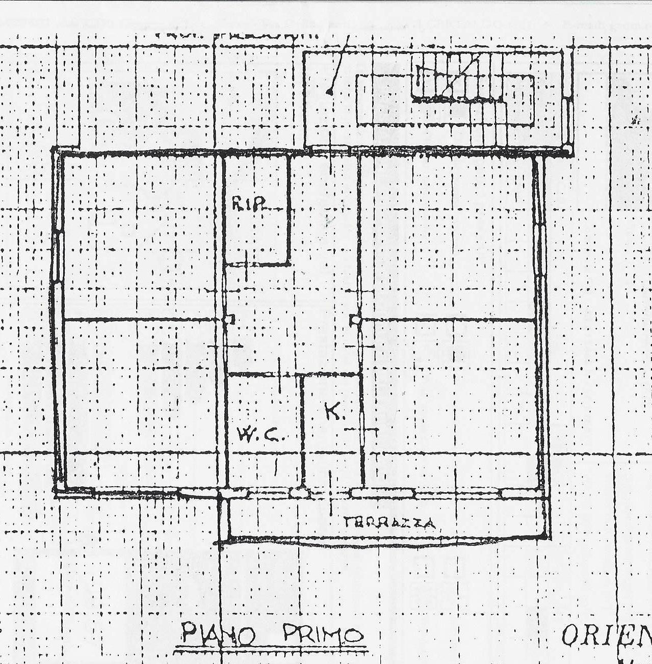Planimetria 1/1 per rif. 1964