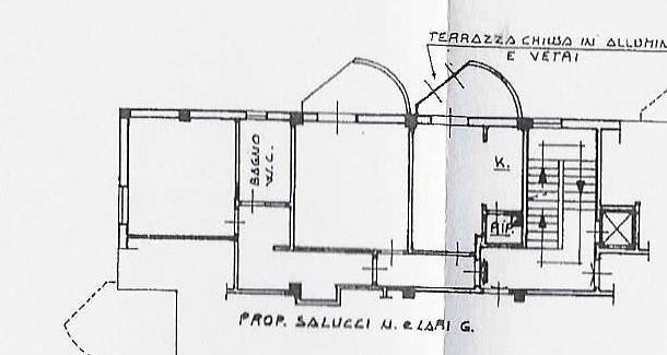 Planimetria 1/1 per rif. 1980