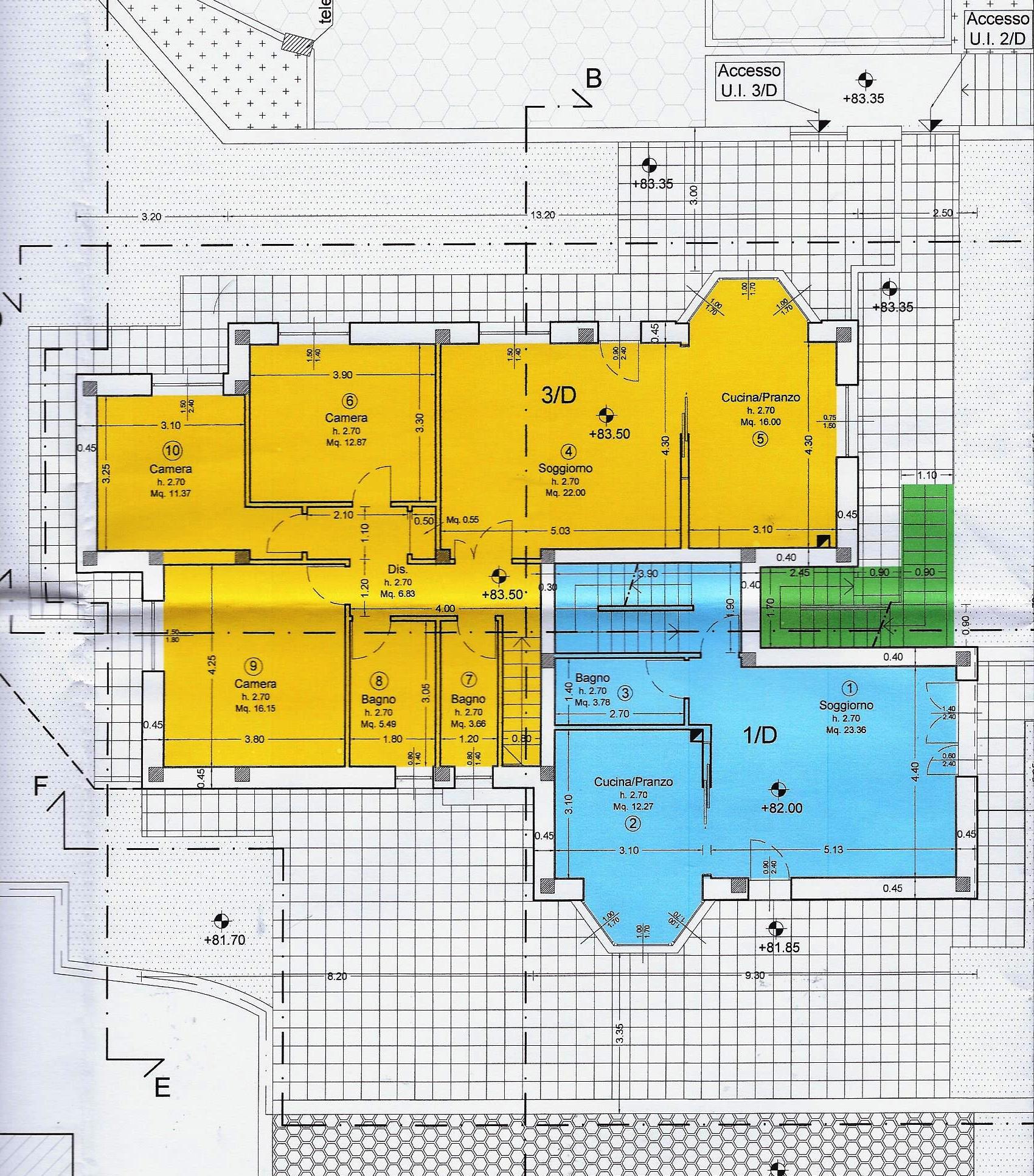 Planimetria 1/3 per rif. 1983