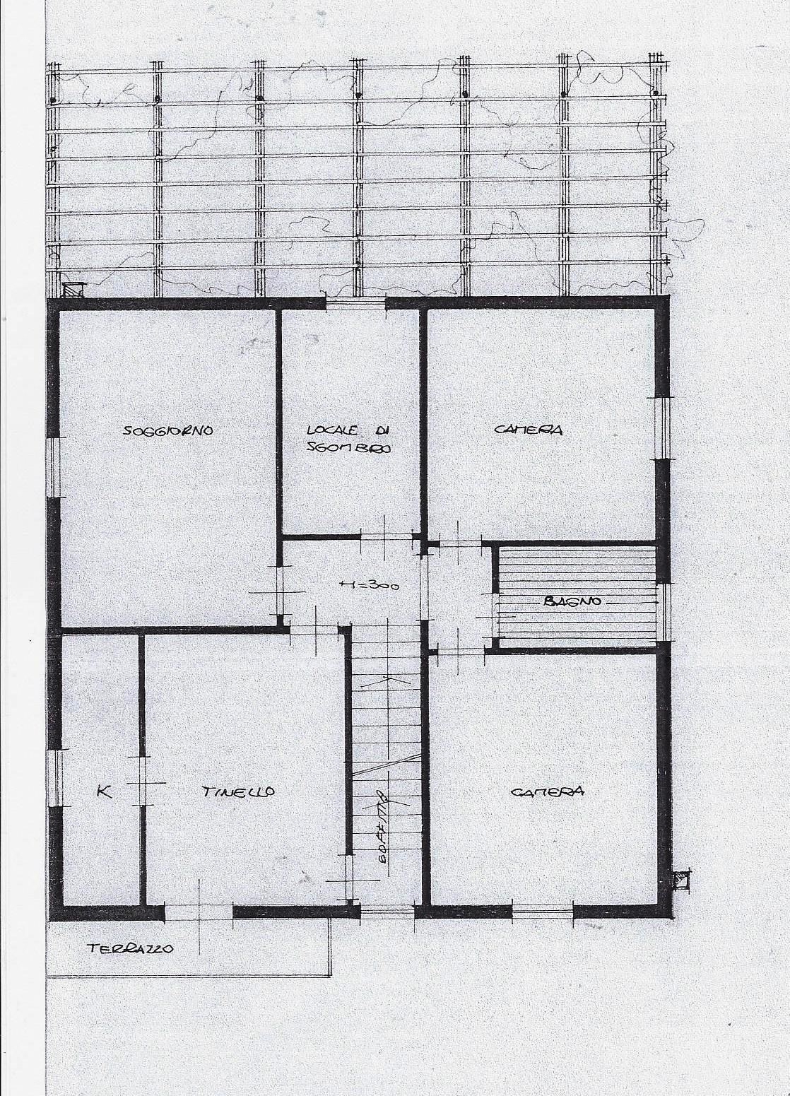 Planimetria 1/2 per rif. 1992