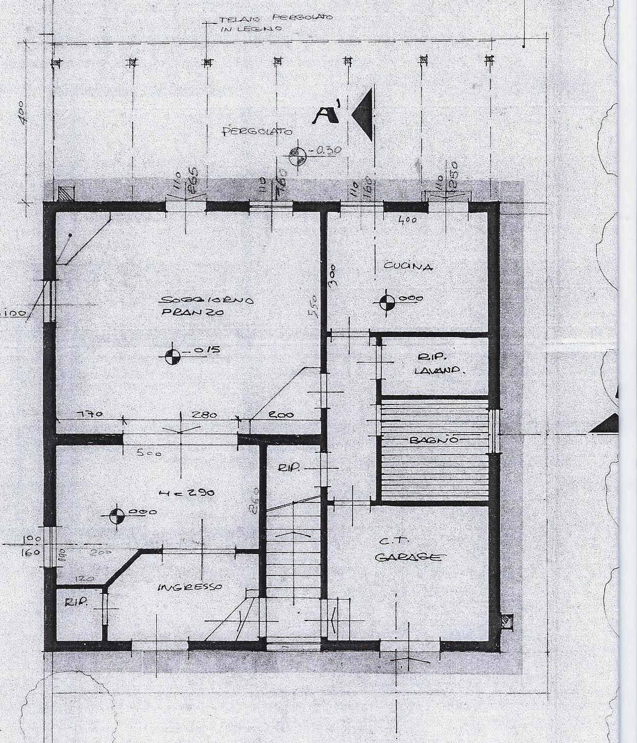 Planimetria 2/2 per rif. 1992