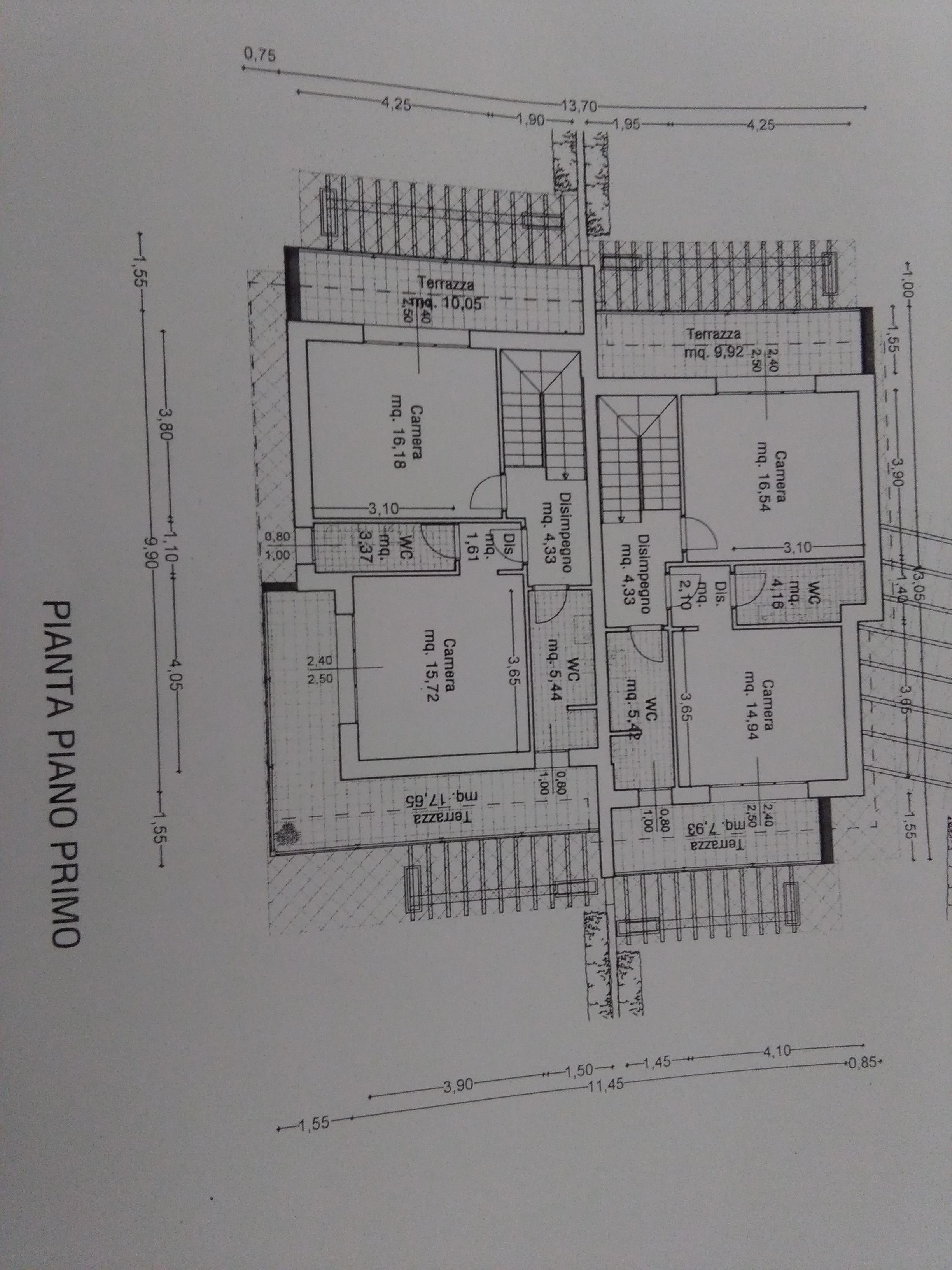 Planimetria 2/2 per rif. 2032