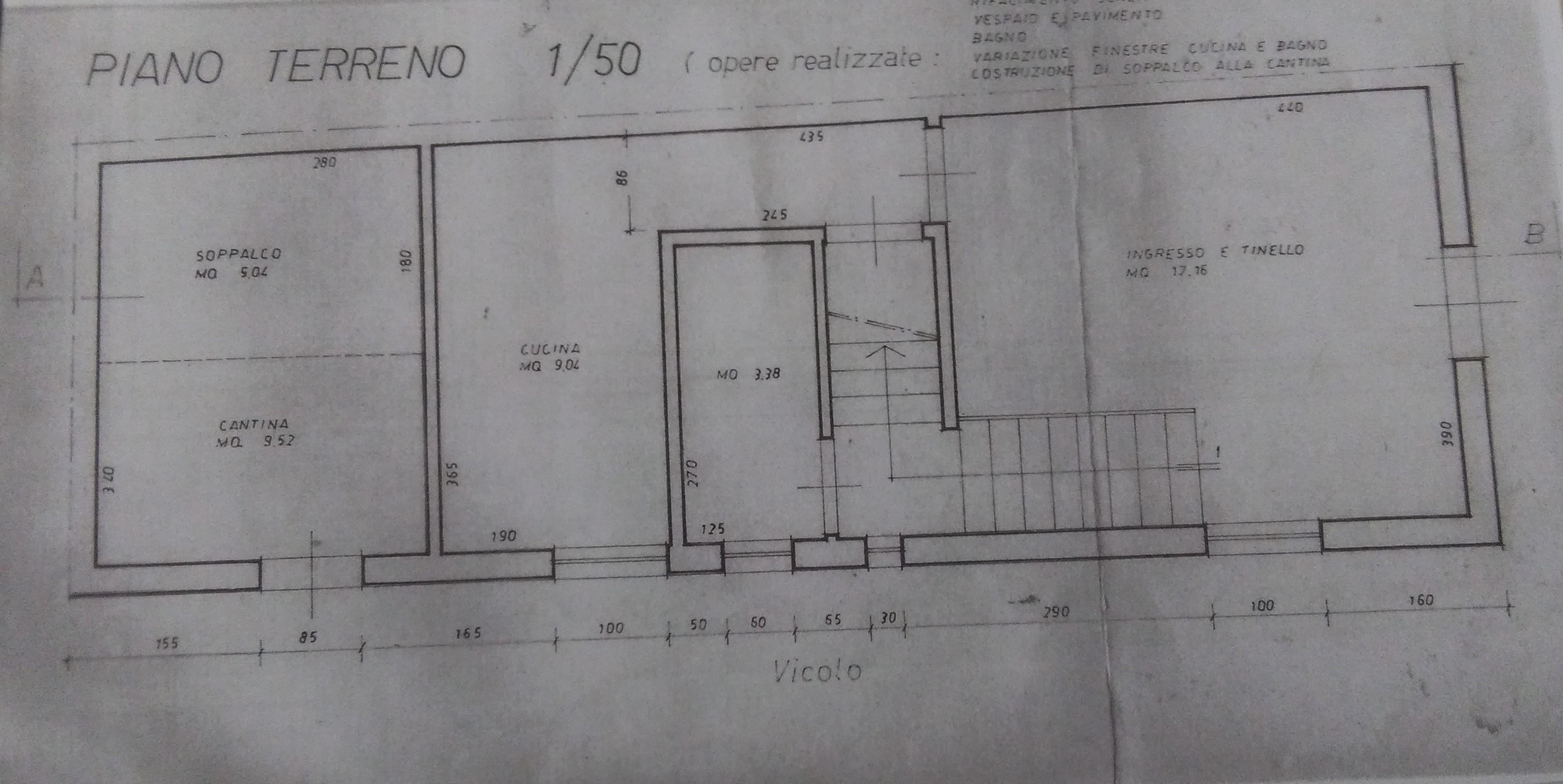 Planimetria 1/2 per rif. 2044