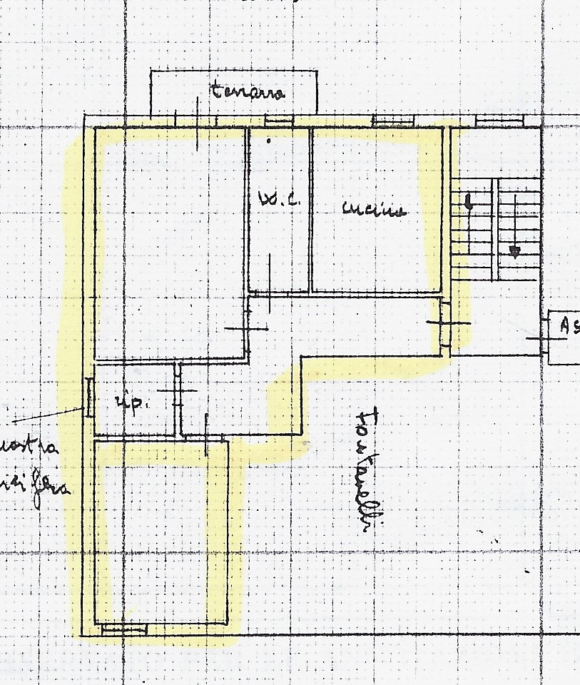 Planimetria 1/1 per rif. 1354