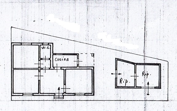 Planimetria /1 per rif. 1615